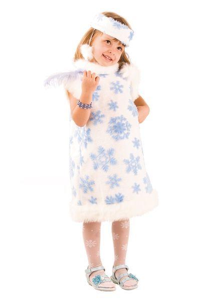 Детский костюм маленькой снежинки (32) - Новогодние костюмы, р.32