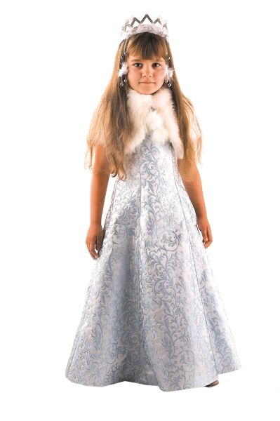 Костюм сказочной Снегурочки (32) костюм снегурочки конфетки 40 44
