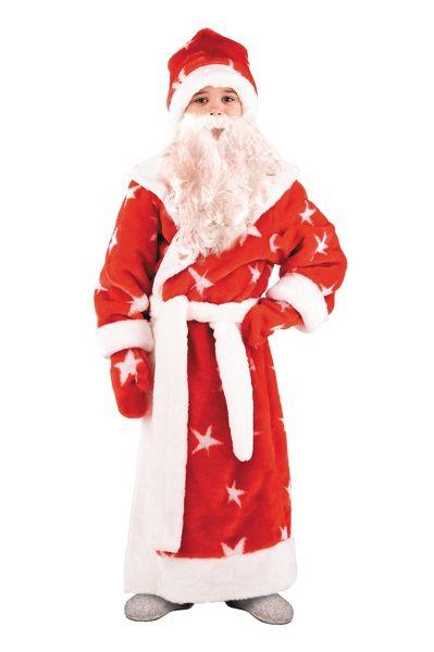 Костюм Деда Мороза детский (34) детский костюм фиолетовой феи виндс 34