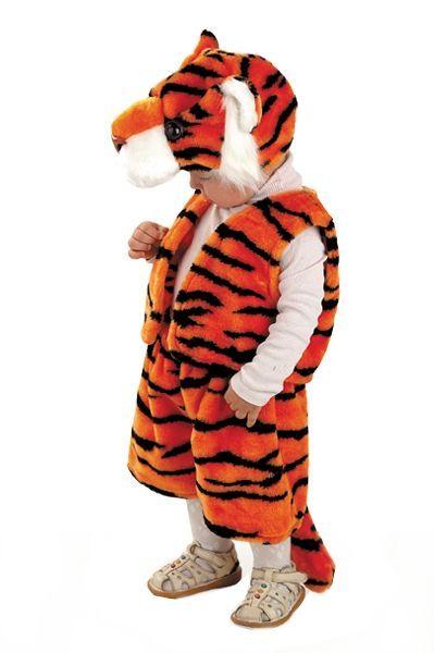 Костюм полосатого тигренка (28) детский костюм озорного клоуна 34
