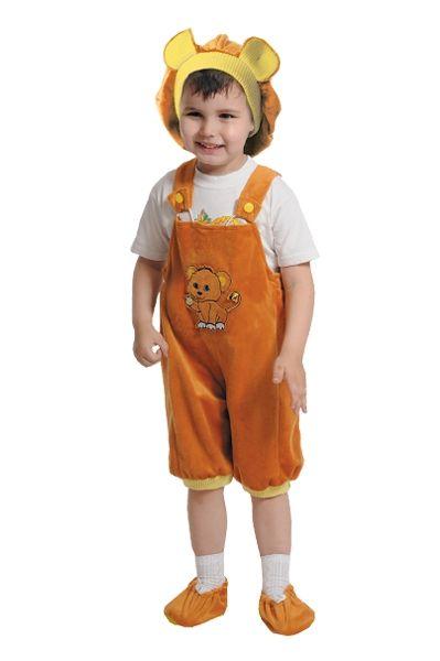 Костюм озорного львенка (26) детский костюм озорного клоуна 34