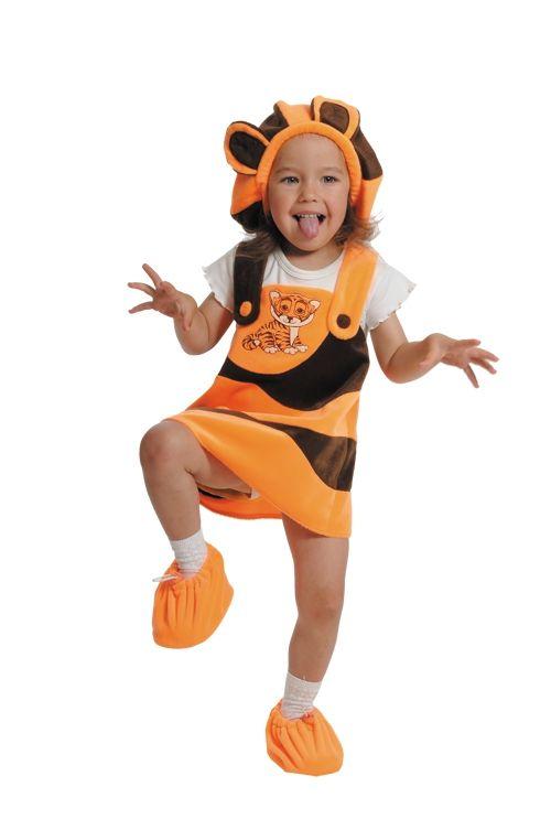 Костюм маленькой тигрицы (26) костюм маленькой миледи 32