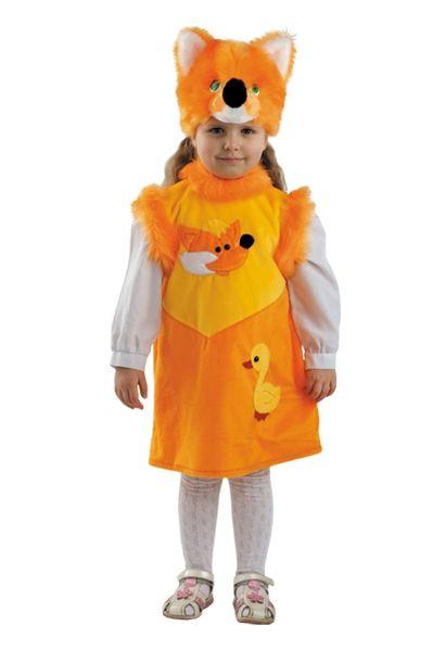 Костюм хитрой лисички (28) батик костюм карнавальный ежик размер 28
