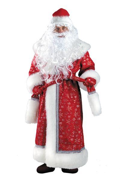 Костюм Деда Мороза из плюша (56) костюм деда мороза ивановский текстиль