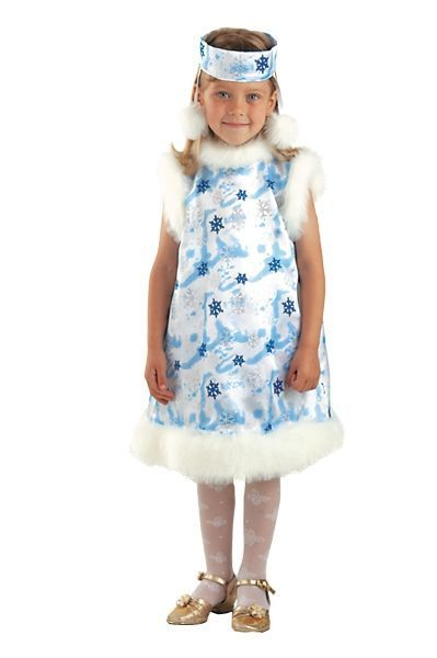 Костюм маленькой снежинки (32) костюм маленькой миледи 32