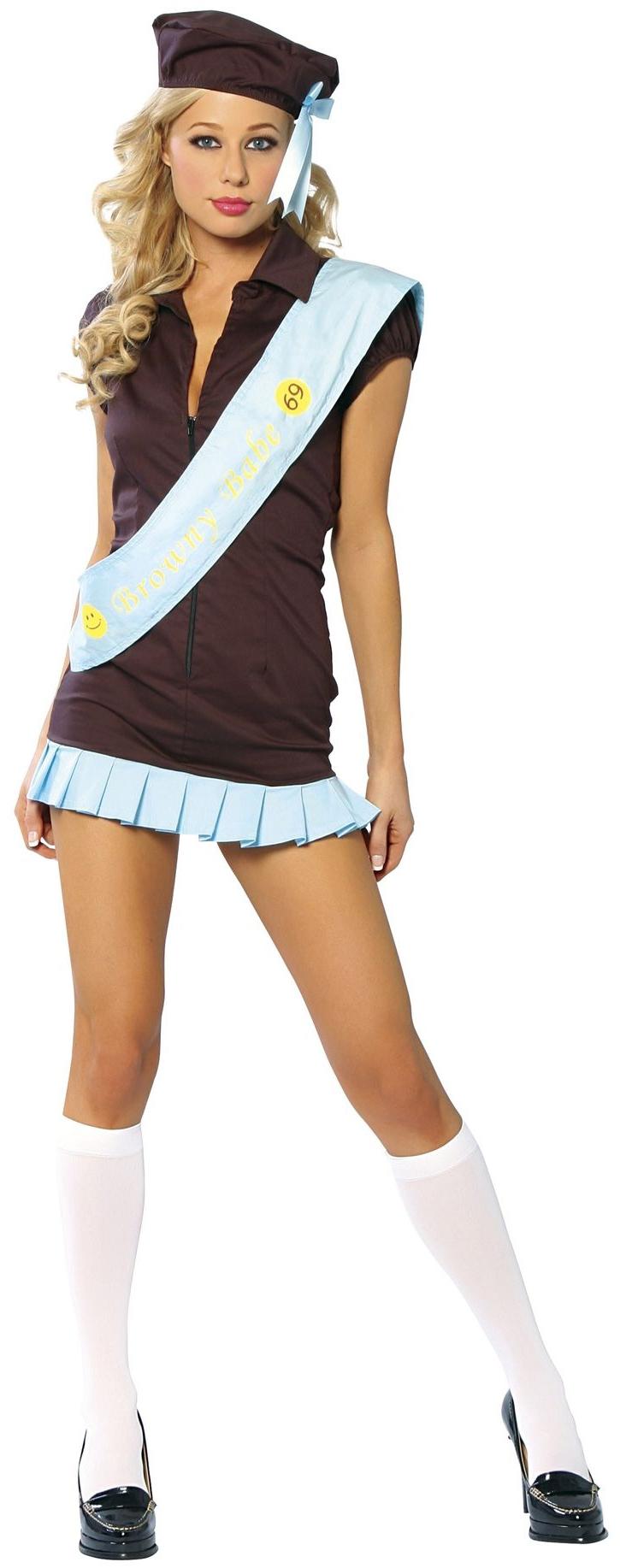 Костюм девочки-скаута (46-48) костюм радужной клоунессы 46 48