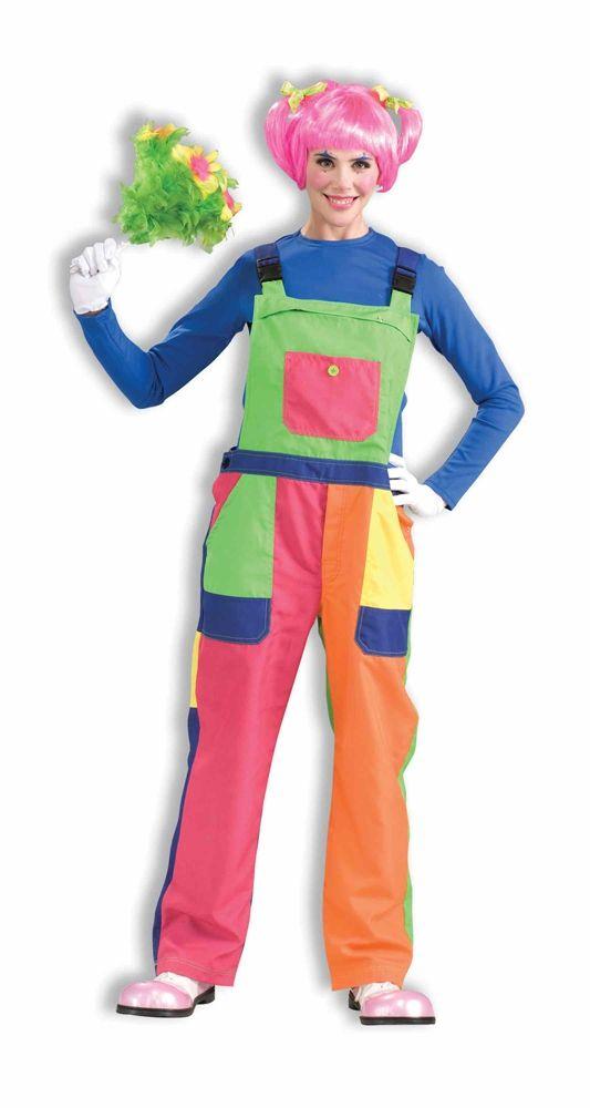 Костюм радужной клоунессы (46-48) костюм радужной клоунессы 46 48