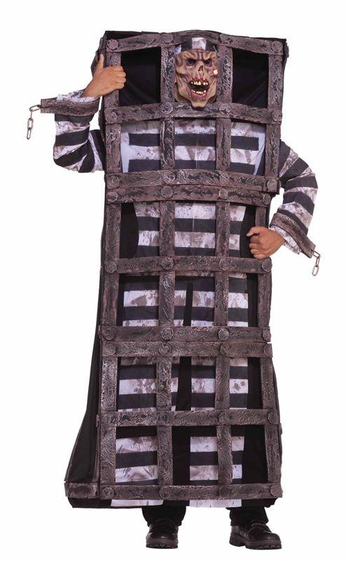Костюм заключённого в клетке (52-54) - Маньяки и убийцы, р.52-54