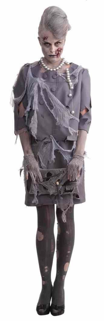 Костюм светской дамы-зомби (48)