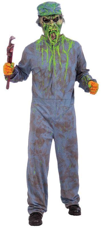 Костюм сантехника-зомби (3X)