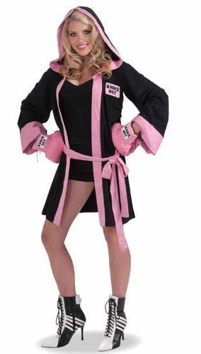 Костюм гламурной боксерши (46-48) -  Спорт