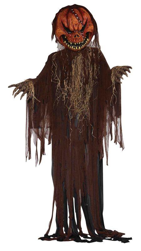 Подвесная страшная тыква - Аксессуары на Хэллоуин