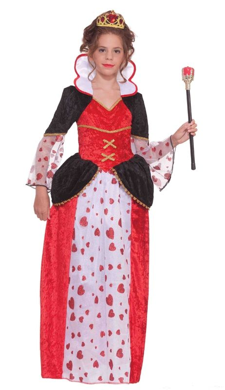 Костюм королевы сердец детский (38) детский костюм королевы