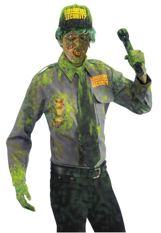 Костюм зомби охранника (52-54) костюм пчеловода 52 54