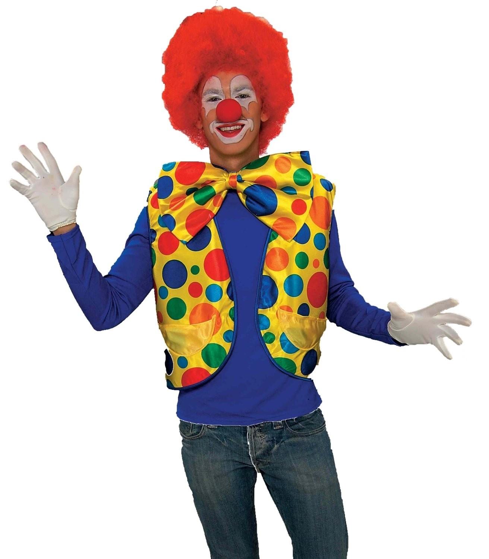 Яркий жилет клоуна (52-54) комплект клоуна 52 54