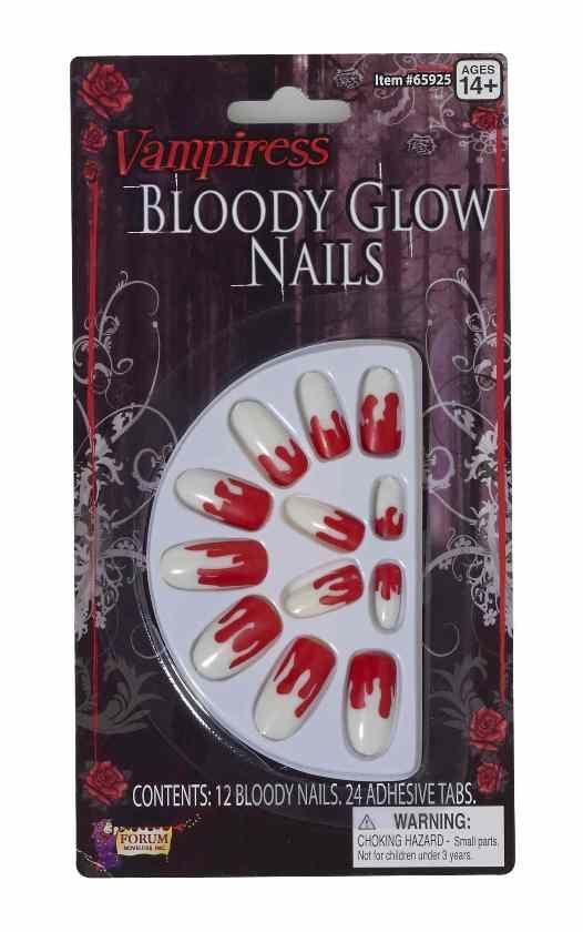 Накладные ногти вампира (42-46) дизайн ногтей essence накладные ногти french click