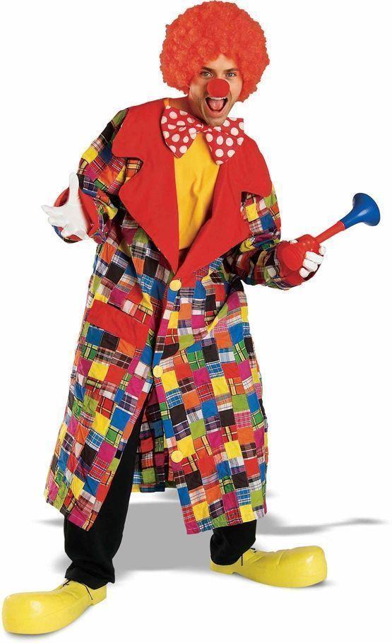 Костюм клоуна Патча (52-54) детский костюм клоуна весельчака 38
