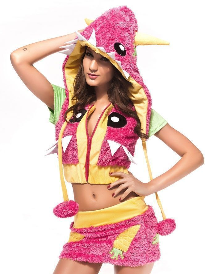 Розовый костюм монстрика (44)