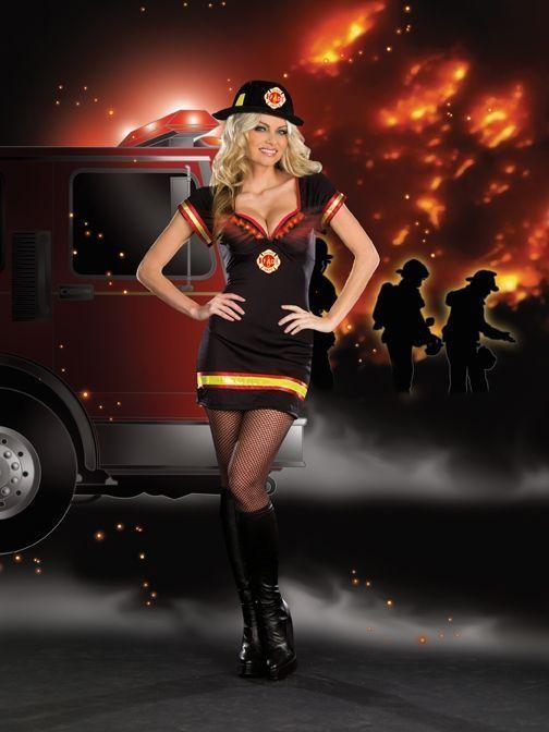 Секси пожарница