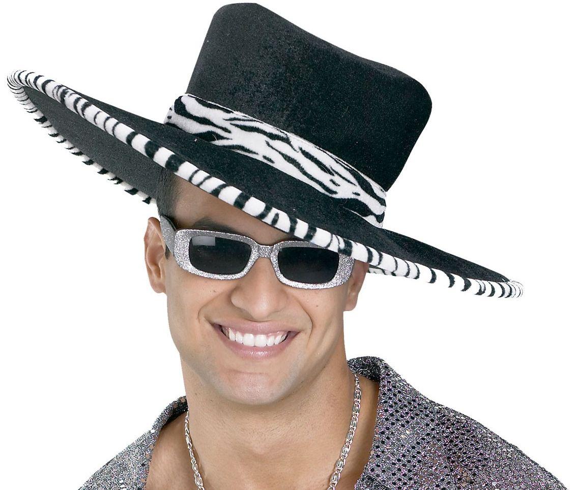 Черная шляпа сутенера (UNI) - Шляпы и цилиндры