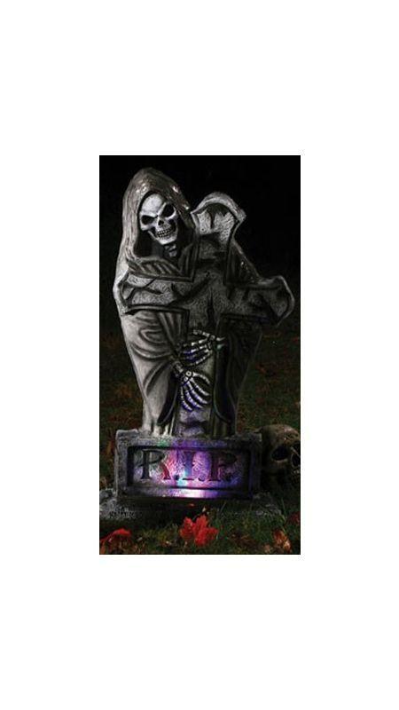 Готическое надгробие - Вестник смерти (UNI) надгробие с демоном uni