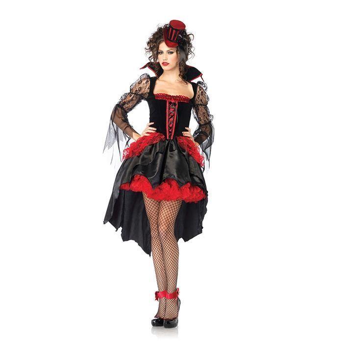 Платье полночной вампирши со шлейфом (46)