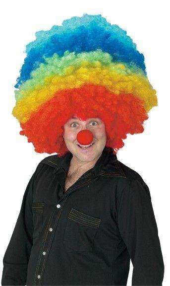 Мега мульти парик клоуна (UNI) - Парики и волосы