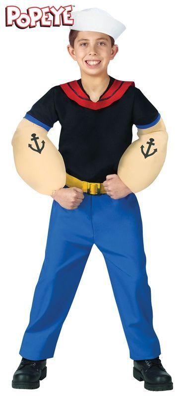 Детский костюм Попайя (34-38) детский костюм клоуна весельчака 38