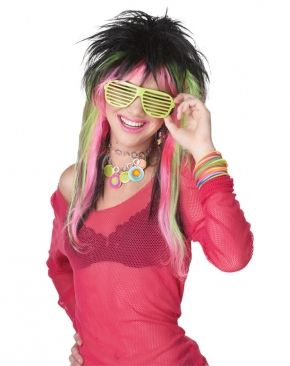 Цветной парик конфетки (UNI) - Парики и волосы