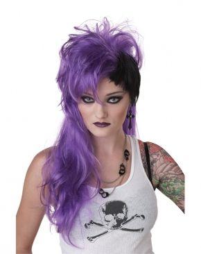 Фиолетовый панк парик (UNI) - Парики и волосы