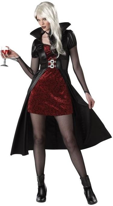 Костюм кровожадной красотки (50-52) - Вампиры и Вампирши, р.50-52