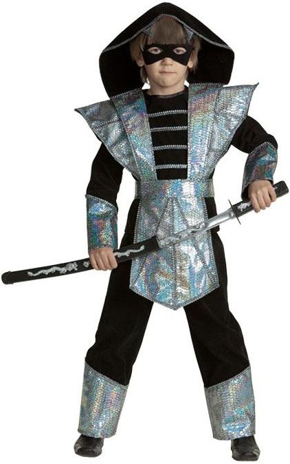 Костюм змея-ниндзя детский (36) костюм карнавальный черепашка ниндзя