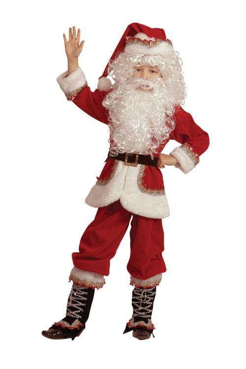 Детский костюм Санты Клауса (32) - Новогодние костюмы, р.32