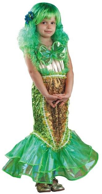 Купить со скидкой Детский костюм русалочки скромницы (30)