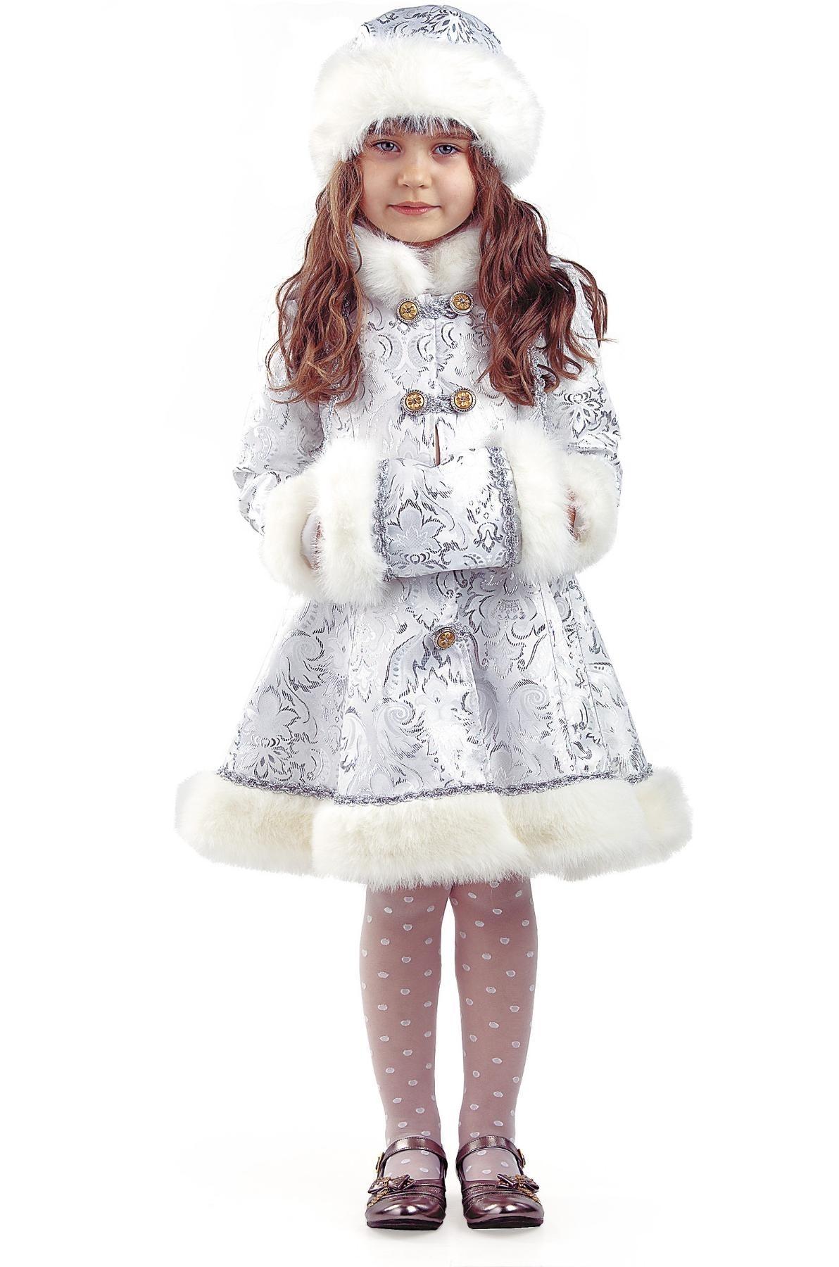 Детский костюм хрустальной снегурочки (34)