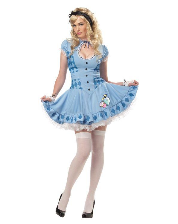Костюм сладкой Алисы (50) костюм на хеллоуин из китая