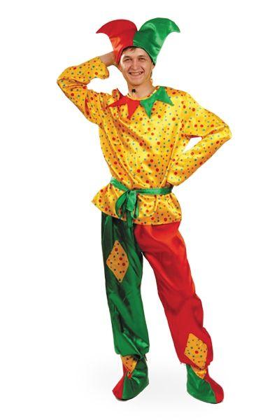 Взрослый костюм Петрушки (46) от Vkostume