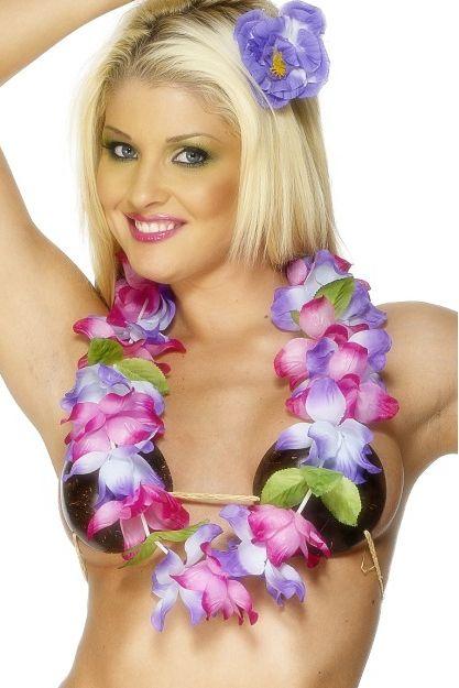Цветочные гавайские бусы - Национальные костюмы