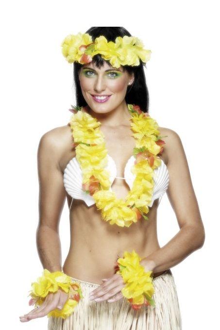 Жёлтый гавайский набор - Национальные костюмы