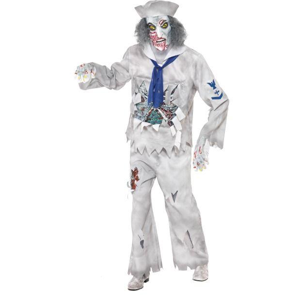 Костюм зомби моряка (52) костюм зомби охранника 52 54