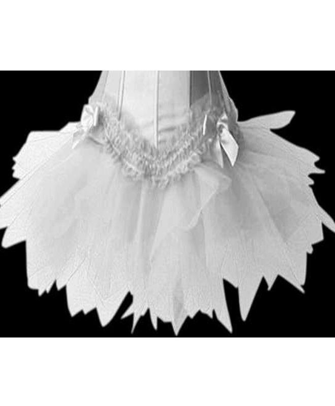 Подъюбник белый пестрый (44) - Подъюбники и юбки, р.44
