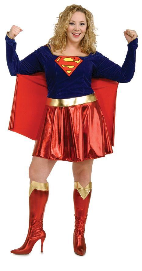 Костюм супер девушки XL (46) - Супергерои и комиксы, р.46