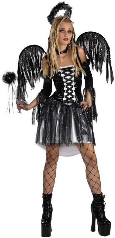 Подростковый костюм падшего Ангела (52) - Ангелочки и ангелы, р.52