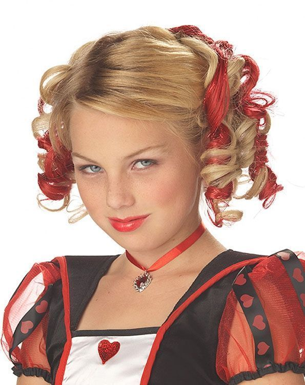 Кудряшки красного цвета (UNI) - Парики и волосы