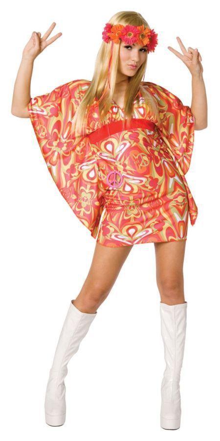 Костюм цветочной танцовщицы хиппи (42) костюм цветочной хиппи 48