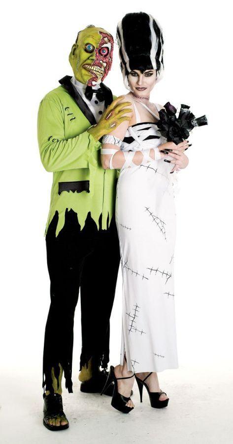Костюм зелёного монстра-жениха (56) - Зомби и мертвецы, р.56