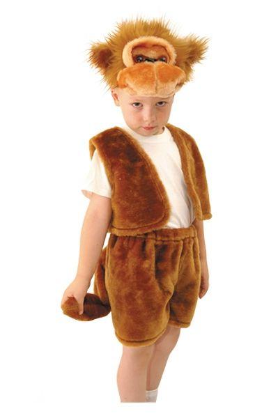 Детский костюм озорной Обезьянки (28) - Животные и зверушки, р.28