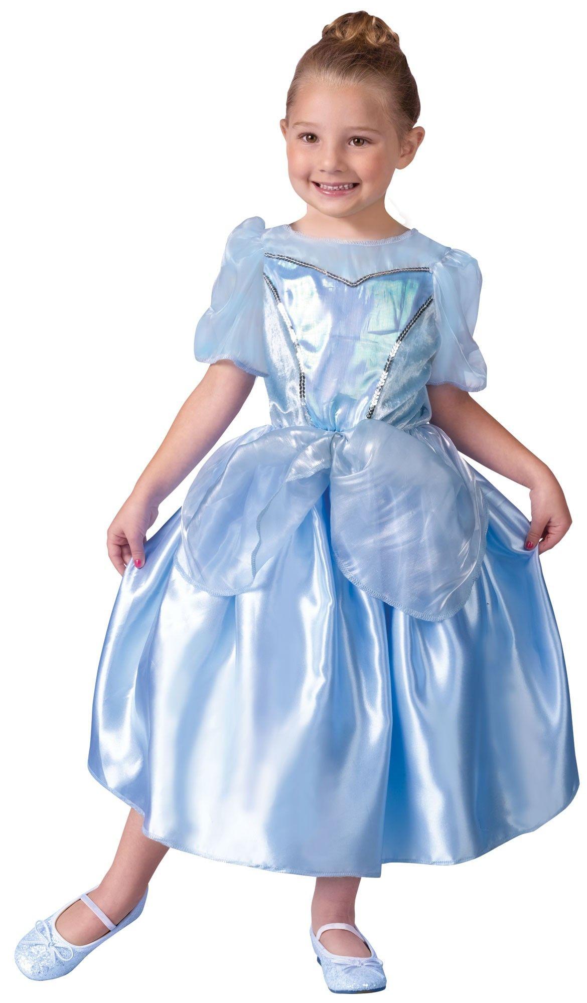 Детское голубое платье Принцессы (30) голубое платье