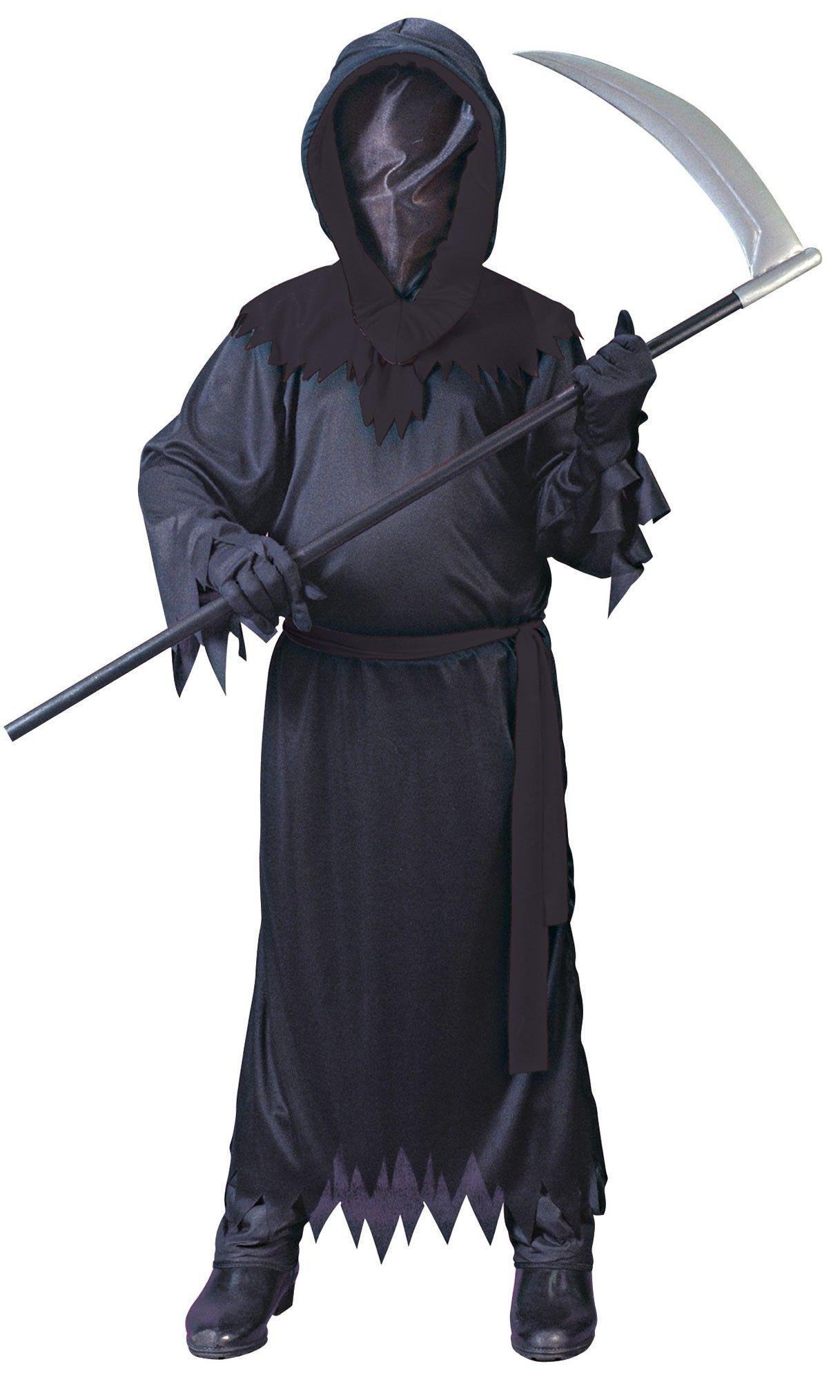 Детский черный костюм Фантома (44) - Нечистая сила, р.44