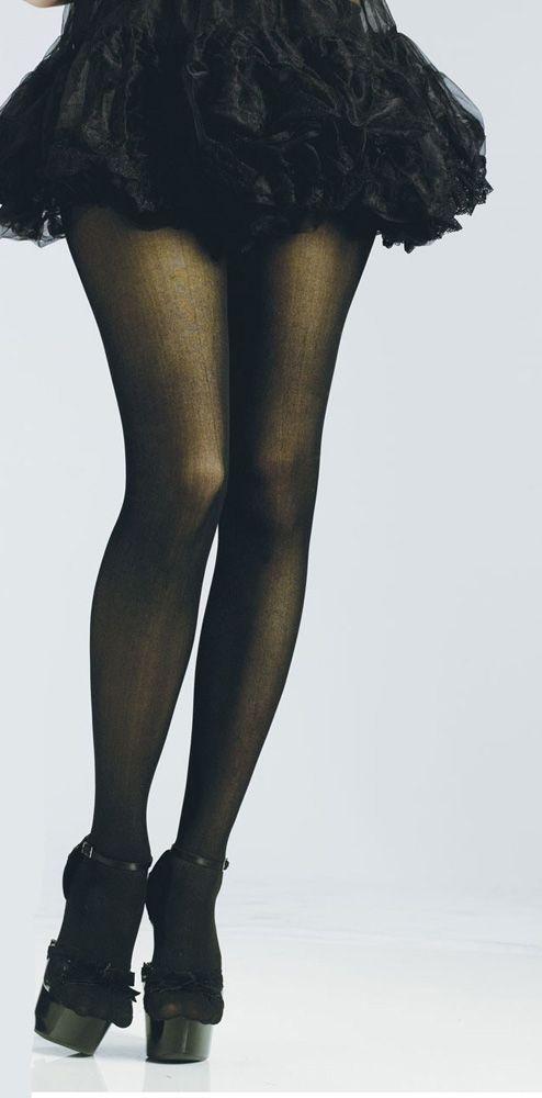 Черные колготки (42-46) колготки женские классические